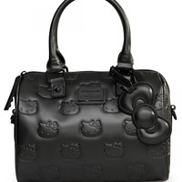 """Hello Kitty Angry"" Mini City Handbag by Loungefly (Black)"
