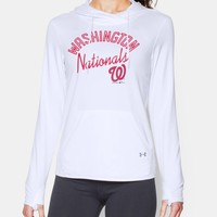 Women's Washington Nationals UA French Terry Hoodie   Under Armour US