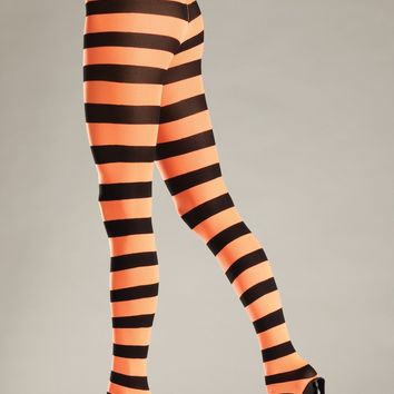 Be Wicked Opaque Widestripe Pantyhose