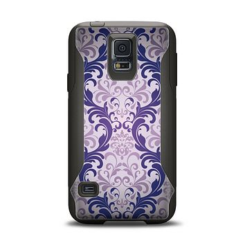The Royal Purple Laced Wallpaper Samsung Galaxy S5 Otterbox Commuter Case Skin Set