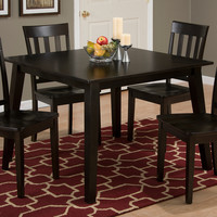 "Simplicity Espresso 42"" Square Dining Table"