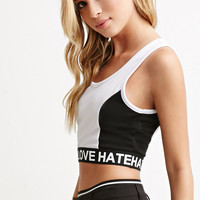Love Hate Crop Top