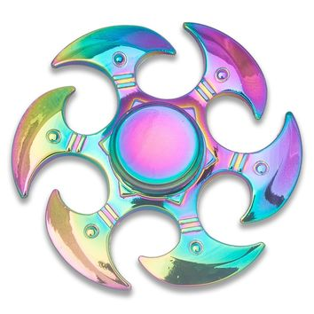 Fidget Spinner - Anxiety Relief Stress Reducer Hand Toy Spinner Helps Focus, Fidget Finger Toys EDC - Saw Bird