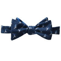 THE HANGTIME REVERSIBLE BOW TIE IN NAVY & BLUE BY SOUTHERN TIDE