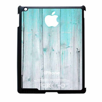 Wood Mint Apple iPad 4 Case