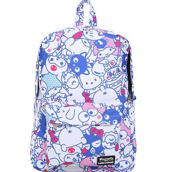 Loungefly Hello Sanrio Character Print Backpack