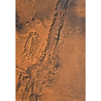 Mars Surface Yoga Mat