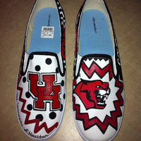 University of Houston Sports Shoes/Vans (Toms available)
