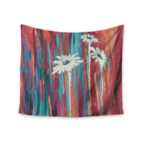 "Brienne Jepkema ""Whole"" Teal Orange Wall Tapestry"