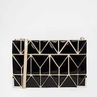 Faith Geo Clutch Bag