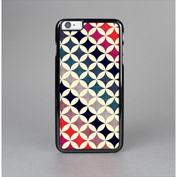 The Overlapping Retro Circles Skin-Sert for the Apple iPhone 6 Skin-Sert Case