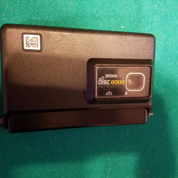 1980s Vintage Kodak Disk 6000 Camera     Tested working