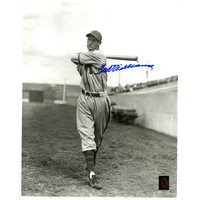 Ted Williams Signed Minneapolis Millers Black & White 16x20 Photo (Green Diamond Auth)(SELL IN FRAME ONLY)