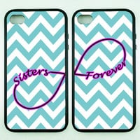 iphone 5S case,Sister forever on Chevron,iphone 5C case,iphone 5 case,iphone 4 case,iphone 4S case,ipod 4 case,Unique ipod 5 case,ipod case