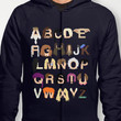 Harry Potter Alphabet Hoody by Mike Boon | Society6