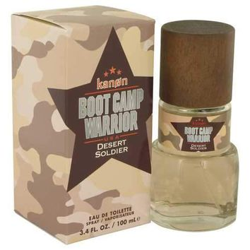 Kanon Boot Camp Warrior Desert Soldier by Kanon Eau De Toilette Spray 3.4 oz (Men)
