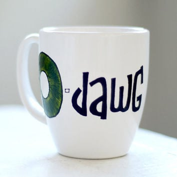 custom dude coffee mug odawg nickname cup with by wandersketch