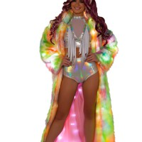 J-Valentine Light-Up Full Length Coat