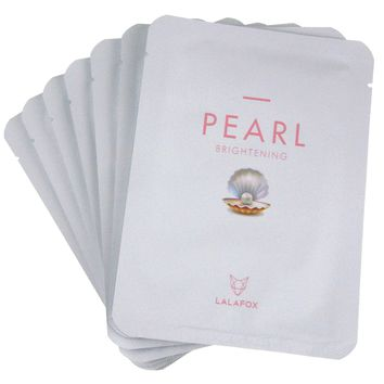 LALAFOX Premium Pearl Face Mask - 7 Pack Set – Daily Skin Facial Beauty Products