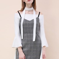 Your Faddish Task Pinafore Dress
