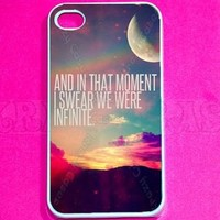 Infinity Quote, infinity iPhone 4 Case - For iPhone 4 and iPhone 4S