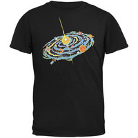 Graphic Nebula Black Youth T-Shirt