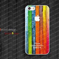 NEW iphone 5 case iphone 5 cover colorized wood texture image unique design printing atwoodting design