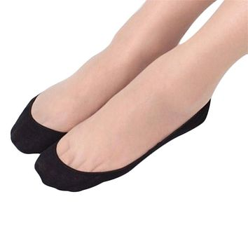 New Fashion  Coolbeener Cotton Lace Antiskid Invisible Liner No Show Peds Low Cut Socks WZ001 dec26 Drop Shipping