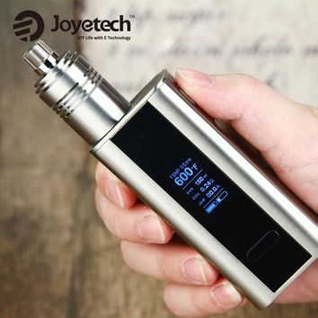 Original Joyetech Cuboid Mod 150W for WISMEC Theorem RTA Tank 2.7ml Atomizer without 18650 Battery Electronic Cigarette Vape Kit