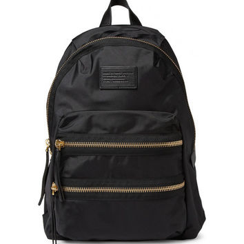 Marc by Marc Jacobs - Leather-Trimmed Nylon Backpack | MR PORTER