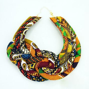 Multicolored African Jewelry  - African Jewelries - African Necklace