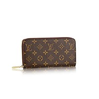 LV tide brand female classic old chess board gla chain wallet coffee print