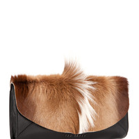 Bold envelope leather clutch - Natural | Bags | Ted Baker ROW