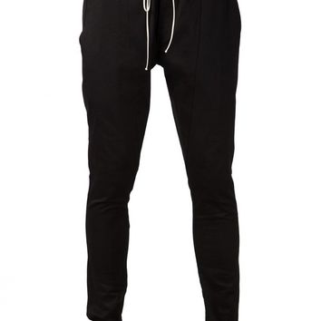FEAR OF GOD - Slim-Fit Drawstring Trouser - 2-SZP-TC14 BLACK - H. Lorenzo