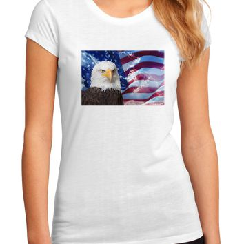 All American Eagle Juniors Sublimate Tee