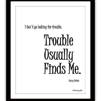 photograph relating to Printable Harry Potter Quotes identify Easiest Harry Potter Offers Wall Decor Items upon Wanelo