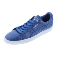 Puma Mens Basket Classic X S Leather Retro Casual Shoes