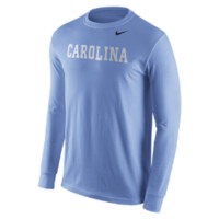 Nike College Wordmark (UNC) Men's Shirt