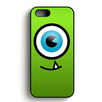 Disney Mike Wazowski Monster Inc Eye iPhone 5, iPhone 5s and iPhone 5S Gold case