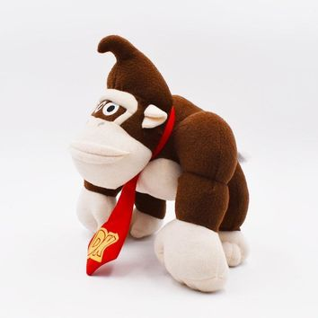 Super Mario party nes switch  Bros 19cm Monkey Donkey Kong Cartoon Anime Plush Toys For Children Gift Peluche Soft Stuffed Dolls   AT_80_8