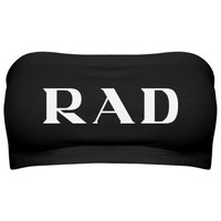 Totes Rad: Custom Junior Fit Bella Bandeau Top - Customized Girl