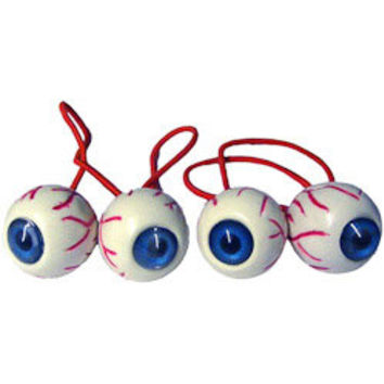Kreepsville 666 eyeball hairbands -  blue