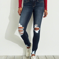 Girls Classic Stretch Low-Rise Super Skinny Jeans | Girls Bottoms | HollisterCo.com
