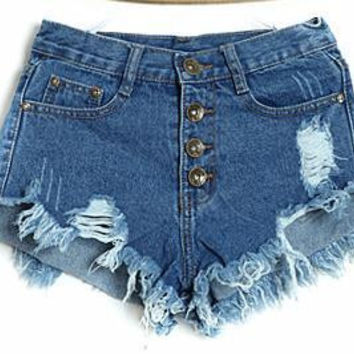 Summer High Waist shorts