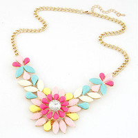 Jewelry New Arrival Gift Shiny Stylish Gemstone Necklace [6586306887]