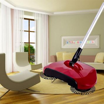 360 Rotary Magic Floor Dust Sweeper Broom