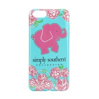 Simply Southern Preppy Phone Case for iPhone 6S in Elephant Print CELL6-ELEPHANT