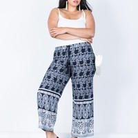 Plus Size Feelin' Bohemian Pants