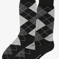 ARGYLE DRESS SOCKS from EXPRESS