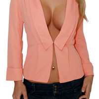 New Chapter (Peach)-Great Glam is the web's best online shop for trendy club styles, fashionable party dresses and dress wear, super hot clubbing clothing, stylish going out shirts, partying clothes, super cute and sexy club fashions, halter and tube tops